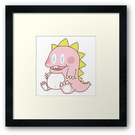 The pink dinosaur by Adrian Serghie