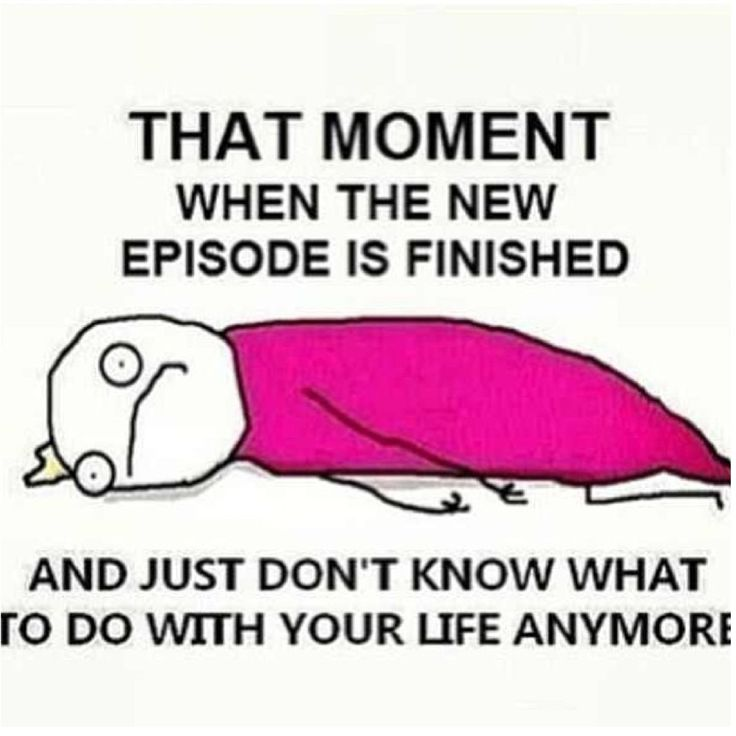 Literally me every week after I finished watching the new episode of #OnceUponATime #OUAT
