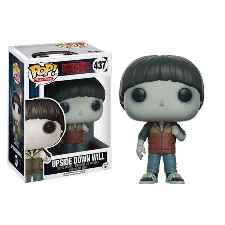 "FUNKO POP! STRANGER THINGS WILL UPSIDE DOWN WILL ""DEL REVÉS"""