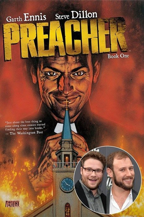 Seth Rogan, Evan Goldberg Adapting 'Preacher' Comic to AMC Series WIth Breaking Bad's Sam Catlin