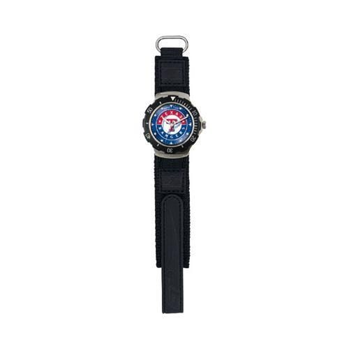 Game Time Agent Series Hook and Loop MLB Texas Rangers, Men's,, Durable