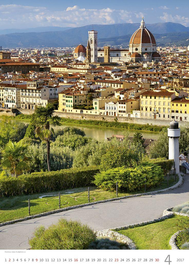 Florence, Italy /  Kalendář Evropa 2017