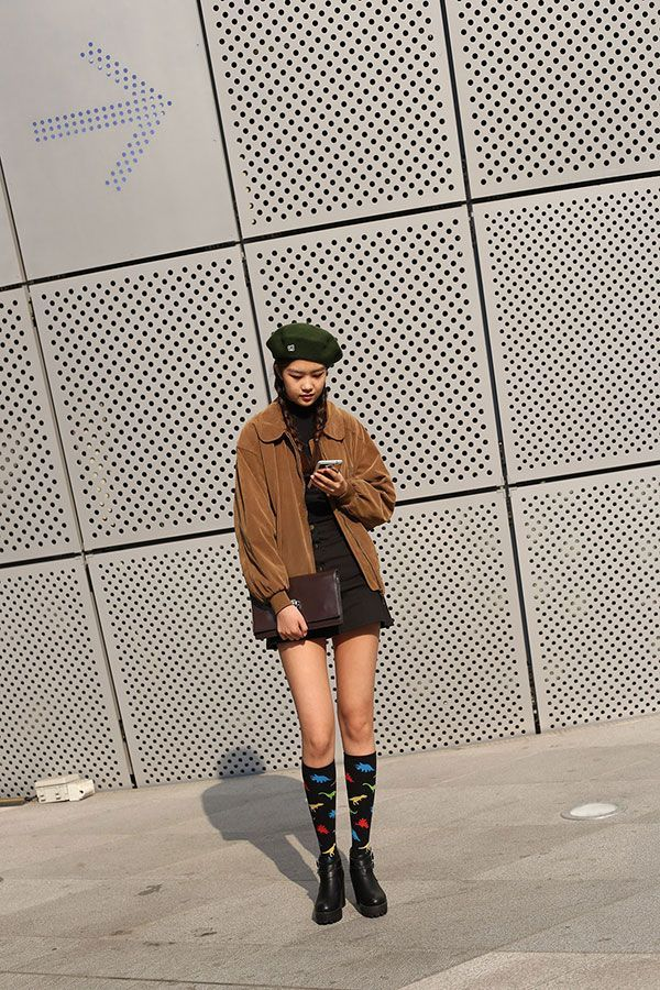 Let This Korean Street Style Be All The Spring Fashion Inspiration You Need #refinery29  http://www.refinery29.com/2016/03/107017/korean-fashion-seoul-street-style-photos