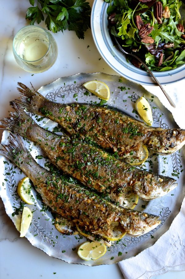 Pan Grilled Fish Recipes
