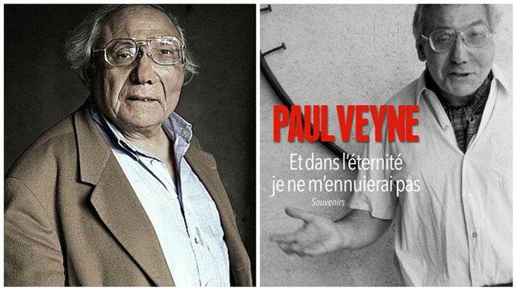 Cette année, les dames du Femina ont récompensé Paul Veyne en lui décernant le Prix Femina de l'essai pour son nouvel ouvrage Et dans l'éternité je ne m'ennuierai pas.