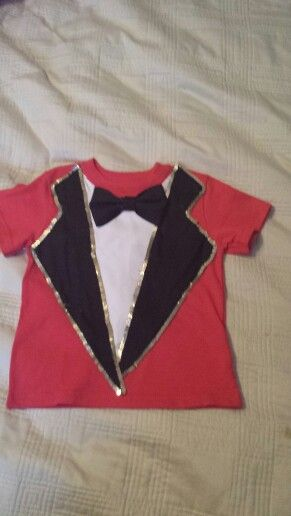 Toddler ringmaster shirt