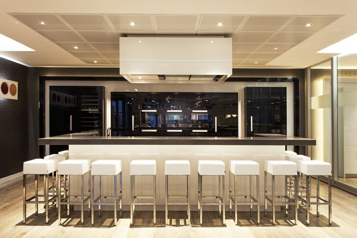 Miele Center in Madrid, Spain. #showroom #experience #kitchen #miele