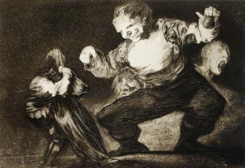 Francisco José de Goya - Disparate de bobo