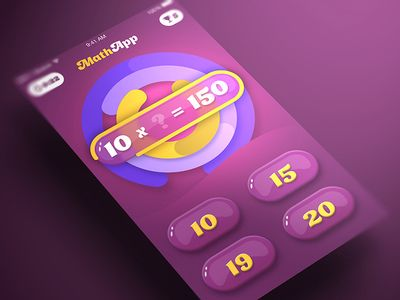 Math Game iOS App