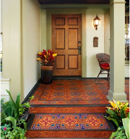 96 best images about For the House: Painted and Stenciled ...