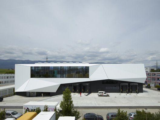 ICRC Logistics Complex,© Régis Golay, FEDERAL STUDIO