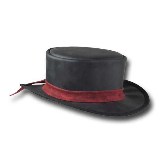 Hey, I found this really awesome Etsy listing at https://www.etsy.com/listing/235449965/ve-adventures-short-leather-top-hat