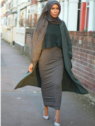 Basma K- This look I giving such Biblical chic-ness! :)