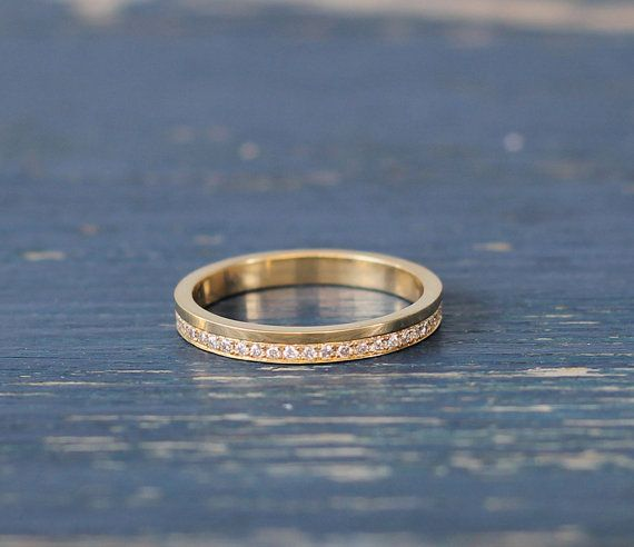 Diamond eternity ring unique eternity ring by RimonFineJewelry