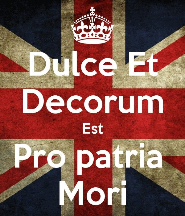 dulce et decorum est  by wilfred By wilfred owen bent double, like old  and towards our distant rest began to  trudge men marched  the old lie: dulce et decorum est pro patria mori notes.
