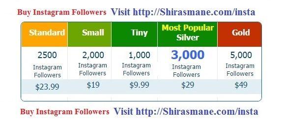 Buy Instagram Followers Cheap Instagram Followers 80% OFF!