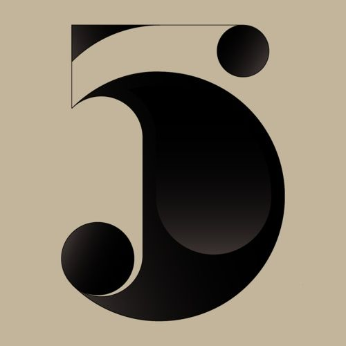 5's are always good in Bodoni-esque