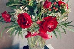 bouquet saint-valentin, rouge passion !
