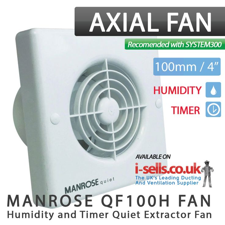 The Manrose Quiet Fan is the latest in domestic ventilation to incorporate a high extraction whilst producing an incredibly quiet running volume. Designed for wall and ceiling mounting, this comprehensive range is ideal for bathrooms and toilets. The unit also comes complete with a performance enhancing turning vane system located in the spigot to improve performance by maintaining a high output.