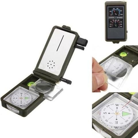 Portable Multifunction 10 in 1 Outdoor Military Tool