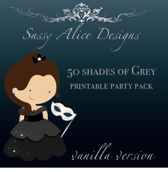 17 best images about 50 shades of grey party ideas on for Bett 50 shades of grey