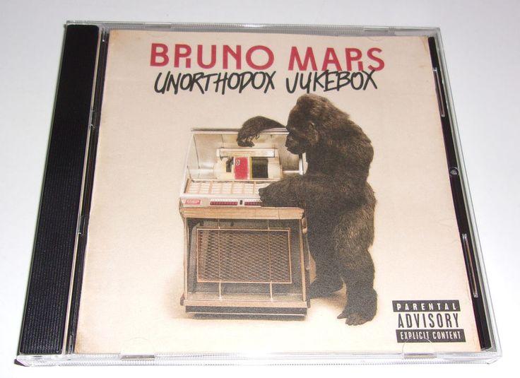 Bruno Mars Unorthodox Jukebox CD 2012 Atlantic Explicit 531747-2 #ContemporaryRB