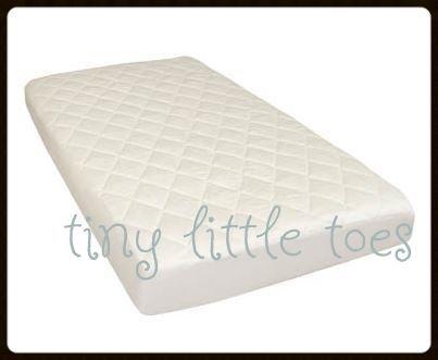 New 100 Cotton Waterproof Innerspring Baby Cot Mattress 1300 X 690mm