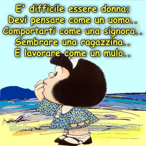 La saggezza di Mafalda