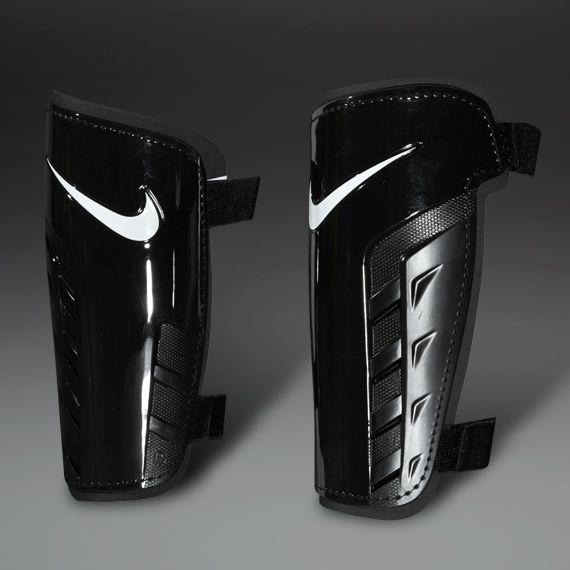 Nike Shinpads - Nike Park Guard Shinpads - Football Shin Guards - Black-Black-White  (size - M) #PDSmostwanted
