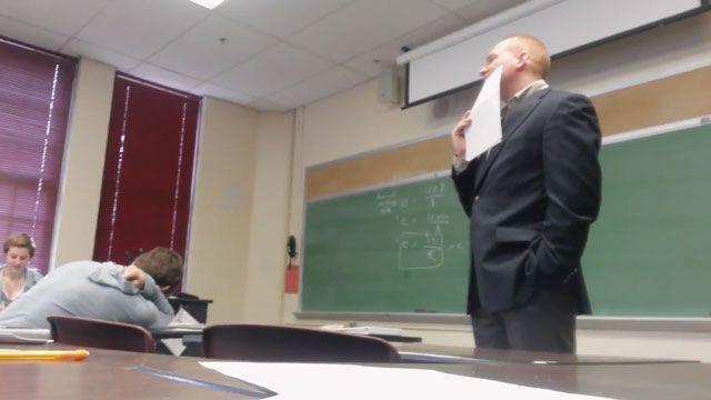 Watch: Aquinas College students pull off epic April Fools' joke - Fox 2 News Headlines