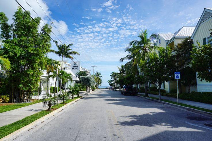 In den Straßen von Key West