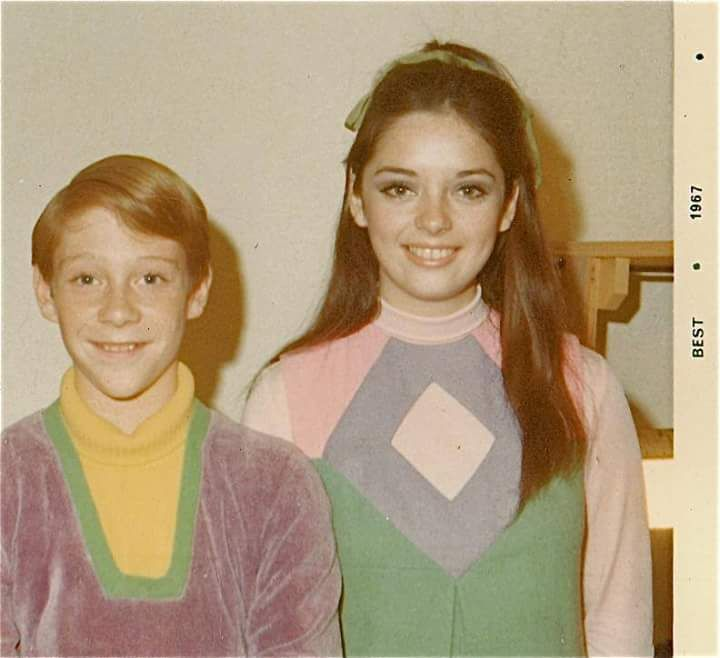 Bill Mumy and Angela Cartwright  from Lost in Space.