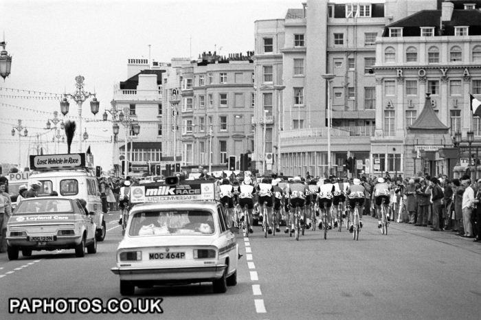 Cycling - The Milk Race - Brighton - 1976