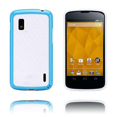 Delta (Sininen) LG Google Nexus 4 Kotelo - http://lux-case.fi/delta-sininen-lg-google-nexus-4-kotelo.html