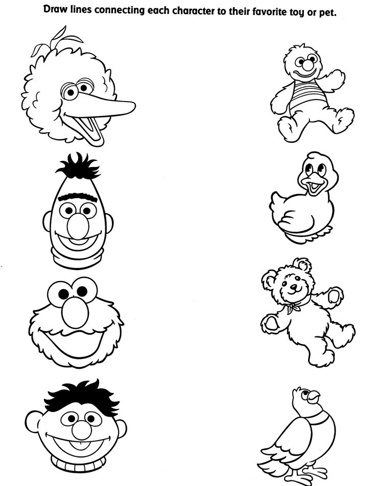 757 best images about coloring pages on pinterest for Coloring pages of sesame street characters