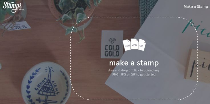 Drag and Drop by Stamps and Sons | PatternTap | ZURB Library
