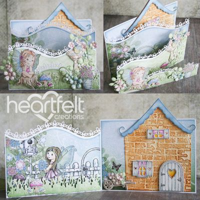 Heartfelt Creations - Wildwood Cottage Foldout Card Project