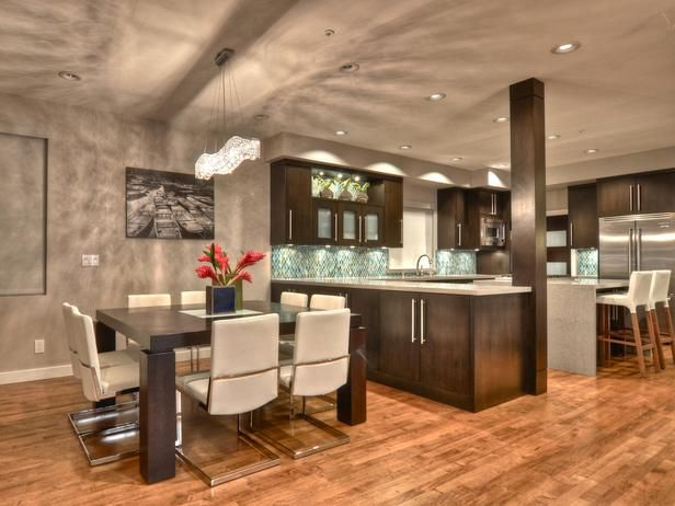 Contemporary Design. Find your style! HGTV Designers' Portfolio >> http://www.hgtv.com/designers-portfolio/room/contemporary/bathrooms/7200/index.html#/id-7168/room-kitchens/style-contemporary?soc=pinterest