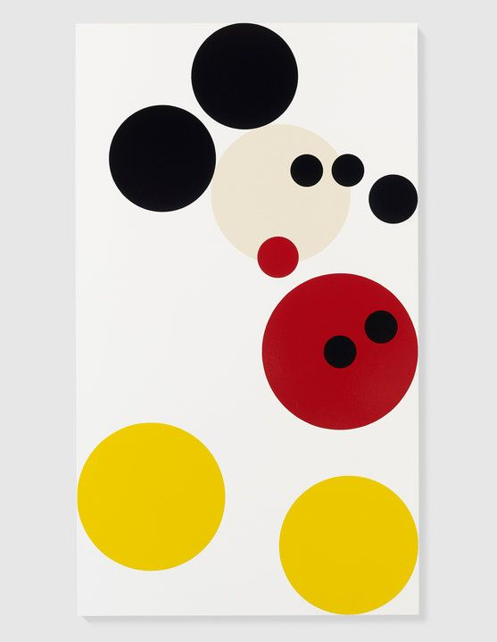 Damien Hirst unveils Mickey Mouse painting to be auctioned in aid of Kids Company - Damien Hirst