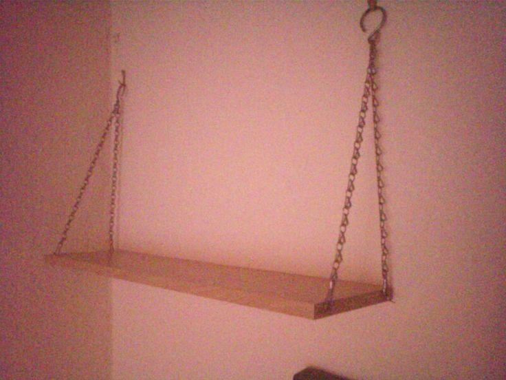 Chain Hanging Shelf Justine S Room Pinterest Shelves