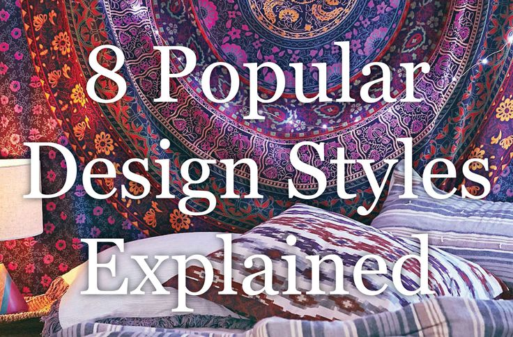 Looking to decorate your new home and seeking thematic inspiration? Search no more. We're covering 8 interior design styles that are popular in modern homes.In reality, practitionersblend differentelements from several decoratingstyles together, but it's crucial to identify thecore aspects of each one. Obviously, there are interior design styles beyond the 8 types outlined below, but I wanted to focus on the major schools that are currently in vogue. I will keep this list updated every…