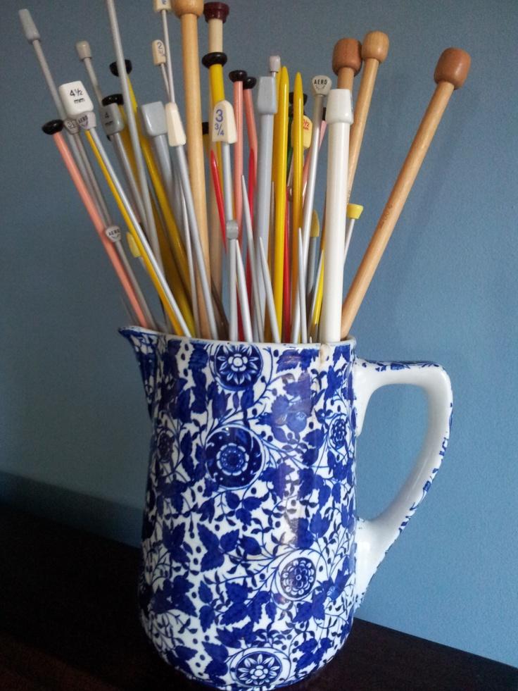 Knitting Needle Storage Ideas : Best knitting needle storage images on pinterest