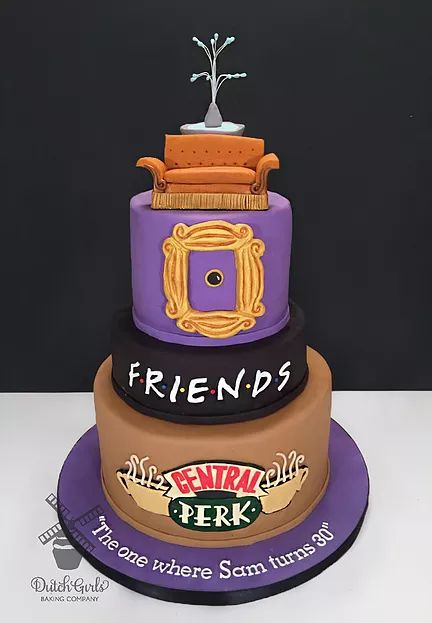 The 25 best Friends birthday cake ideas on Pinterest Birthday
