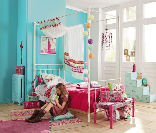 maisons du monde nouveaut s chambre enfant fille gar on ado. Black Bedroom Furniture Sets. Home Design Ideas