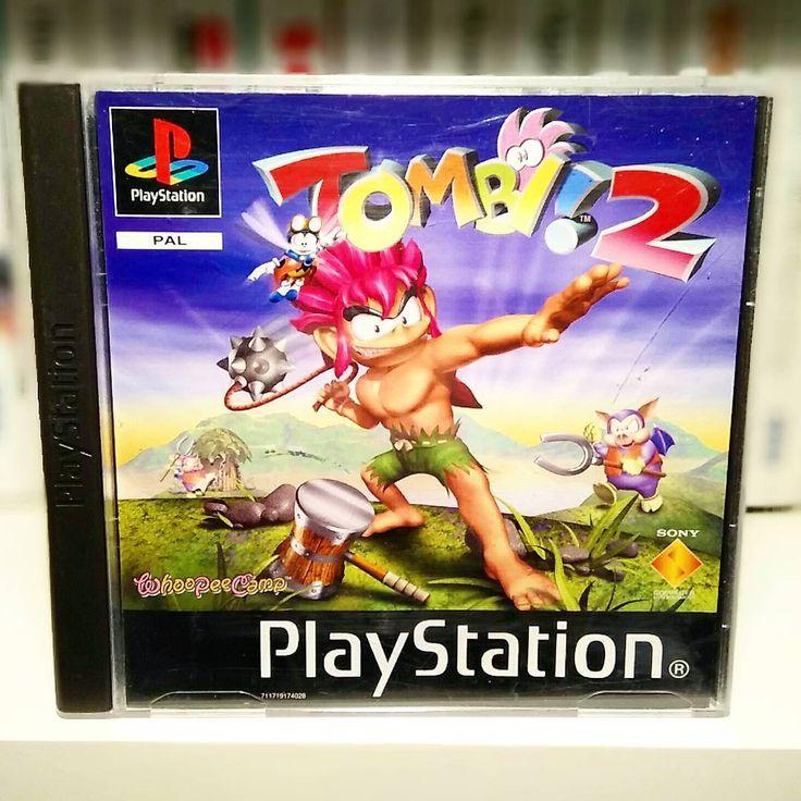 On instagram by cyborg20003 #retrogames #microhobbit (o) http://ift.tt/1Q1xo0g a great action-platformer-adventure game! It got it all! Beautiful graphics great music fun gameplay and humor. So much love! Tombi 2.  #videospel #sony #playstation #tombi2 #ps1 #platform #psone  #videospelsklubben#tvspel#tvspelssamling #videogames#videogamescollection#gamer #gamernerd#retro#retrocollective#nörd#nerd #sverige#sweden#awesomeboxart#awesomegames#retrogaming