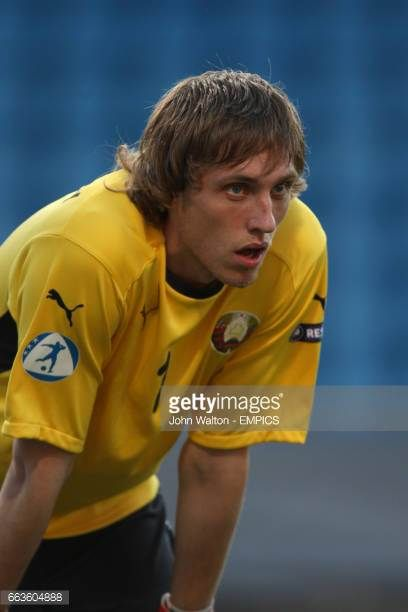 Pavel Chesnovsky Belarus goalkeeper