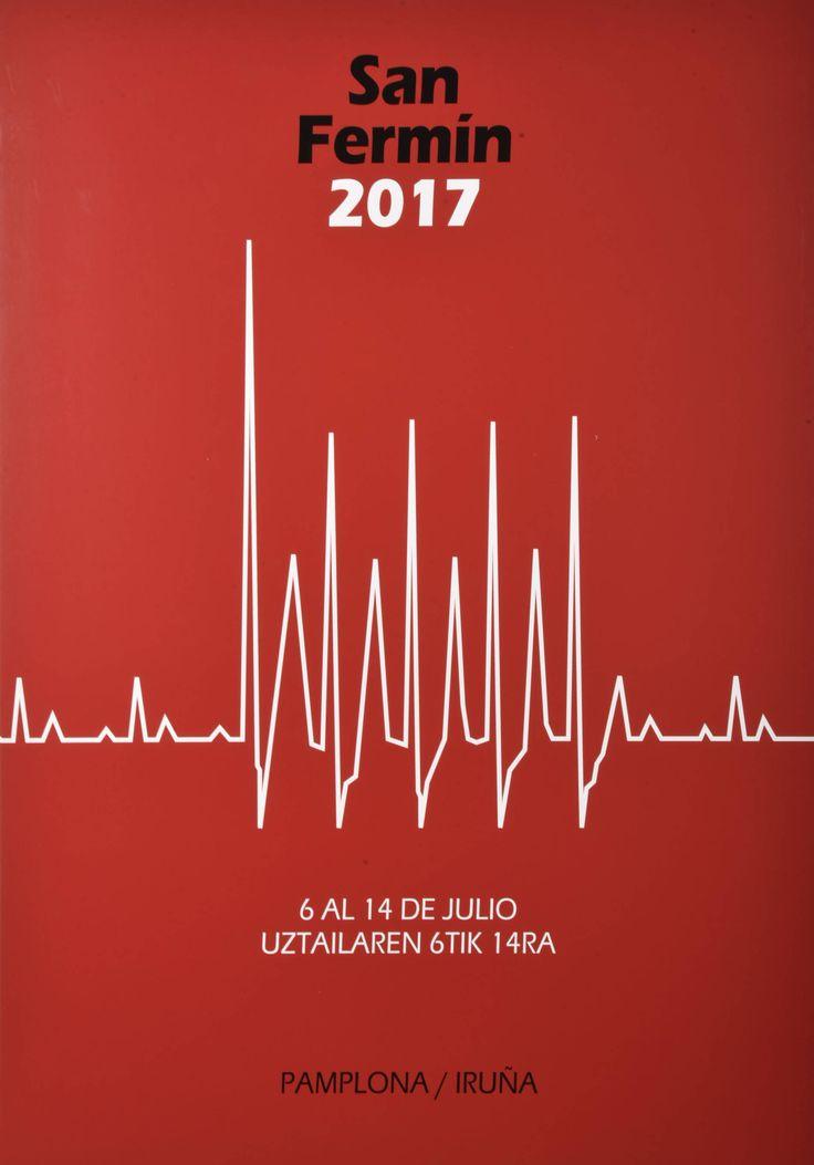 Cartel finalista de San Fermín 2017 Nº 2 – 102 – 9 días de taquicardias