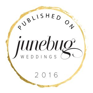 Published on Junebug Weddings Badges!
