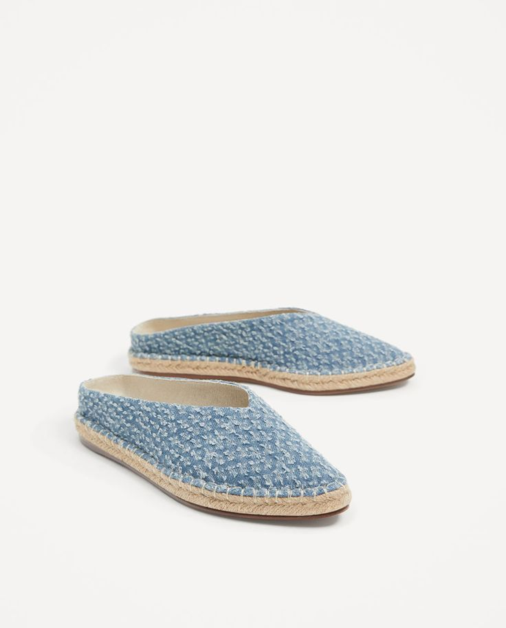 Image 1 of FABRIC MULES from Zara
