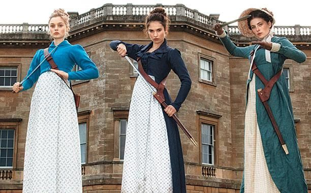 Pride And Prejudice And Zombies. I can't believe this is happening.